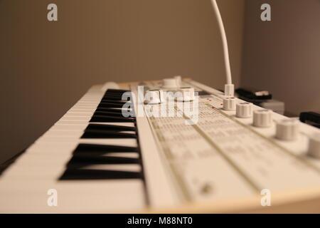 Korg Microkorg S Synthesizer - Stock Photo