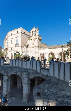 Santo Spirito Church, Matera district, Lucania, Basilicata, Italy  UNESCO World Eritage