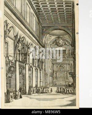 Esequie del serenissimo Ferdinando II, gran duca di Toscana celebrate in Firenze dal serenissimo gran duca Cosimo - Stock Photo