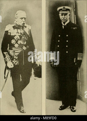 Field Marshal Sir John French and Admiral Sir George Callaghan - Stock Photo