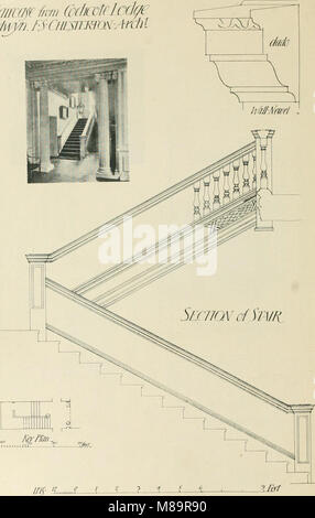 Garden city houses and domestic interior details (1913) (14779022832) - Stock Photo