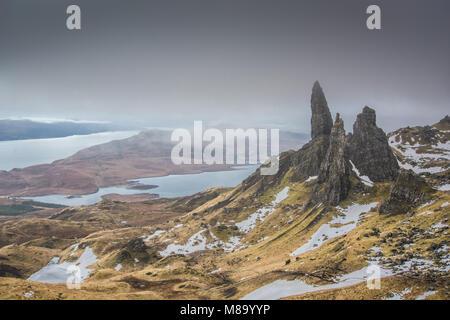 Old Man of Storr - Isle of Skye - Highlands - Stock Photo