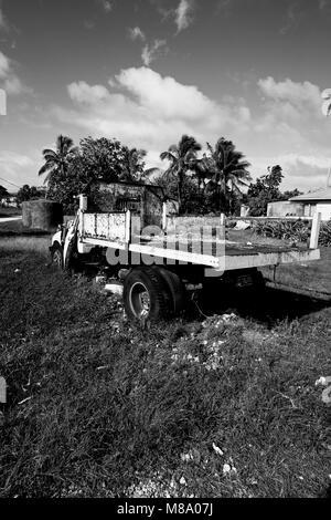 Pangai. Lifuka island. Haapai islands, Tonga. Polynesia - Stock Photo