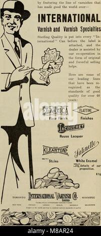 Hardware merchandising August-October 1912 (1912) (14781223131) - Stock Photo