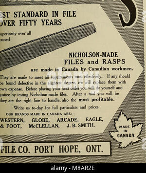 Hardware merchandising August-October 1912 (1912) (14782166324) - Stock Photo