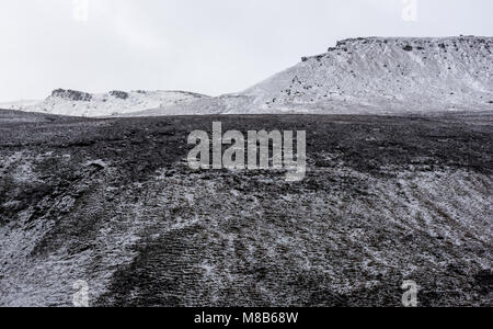 Seal Edge and Fairbrook Naze on Kinder Scout, Peak District - Stock Photo