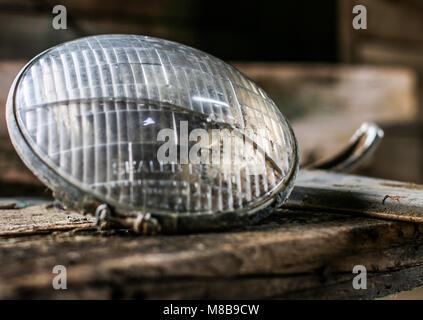 head light - Stock Photo