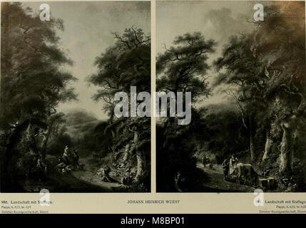 Deutsches barock und rokoko - herausgegeben im anschluss an die Jahrhundert-ausstellung deutscher kunst 1650-1800, - Stock Photo