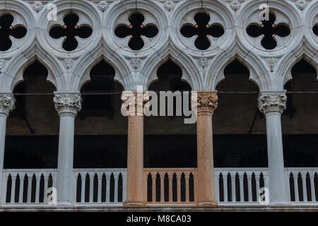 Impressionen aus Venedig - Palazzo Ducale - Stock Photo