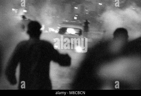 Philippe Gras / Le Pictorium -  May 68 -  1968  -  France / Ile-de-France (region) / Paris  -  Clashes between police - Stock Photo