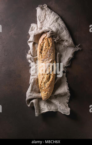 Artisan rye bread - Stock Photo