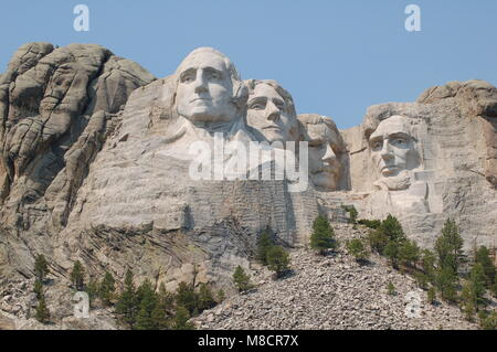 Symbol in Mount Rushmore National Memorial South Dakota - Stock Photo