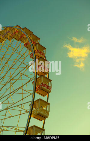Ferris wheel in Nice in Provence-Alpes-Côte d'Azur, France - Stock Photo