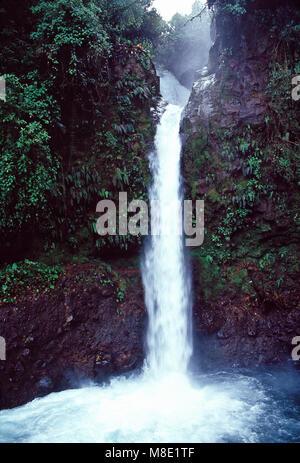 La Paz Waterfall,Costa Rica - Stock Photo