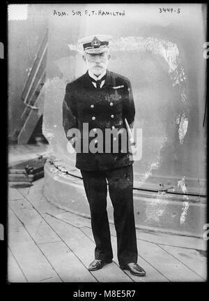 Adm. Sir F.T. Hamilton LCCN2014698832 - Stock Photo