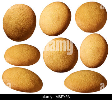 Nilla wafer cookies - Stock Photo