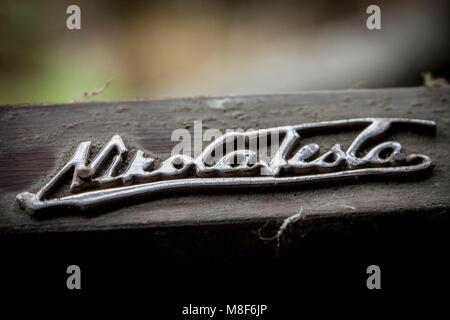 Old Wooden Radio Detail Stock Photo 125778860 Alamy