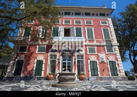 Villa Durazzo-Centurione in Santa Margherita Ligure, Genoa province, ligurian riviera, Italy - Stock Photo