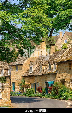 Snowshill Gloucestershire England - Stock Photo