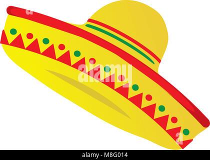 Sombrero Mexican Hat - Stock Photo