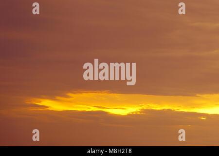 unprecedented sunrise in the sea of incredible colors . - Stock Photo