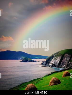 IE - CO. KERRY:  Slea Head on the Dingle Peninsula - Stock Photo