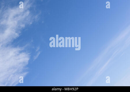 Best Natural Sky clouds.Hazy small cirrostratus.Beautiful cirrocumulus and cumulus cloud formations on a sunny afternoon - Stock Photo