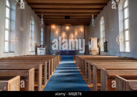 Brevik Church, Lidingö (Sweden) - Stock Photo
