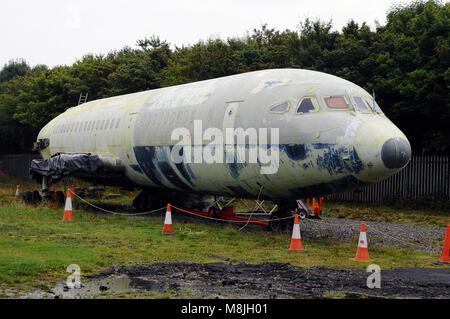 Hawker Siddeley Trident G-ARPO at NELSAM Sunderland - Stock Photo