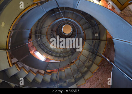 Spiral staircase UK - Stock Photo