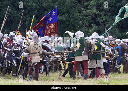 Tewkesbury reenactment