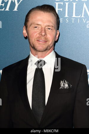 Newport Beach Film Festival - annual honours at Rosewood London, Holborn, London  Featuring: Simon Pegg Where: London, - Stock Photo