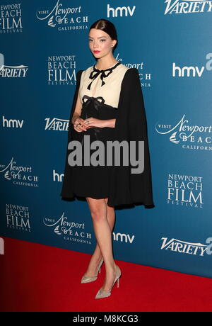 Newport Beach Film Festival - annual honours at Rosewood London, Holborn, London  Featuring: Anya Taylor-Joy Where: - Stock Photo
