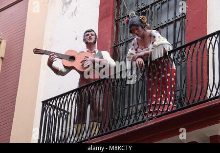 Flamenco Centre in Seville - Stock Photo