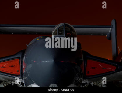 De-Havilland DH.110 Sea Vixen, XP924, E-134, ' Foxy Lady' - Stock Photo