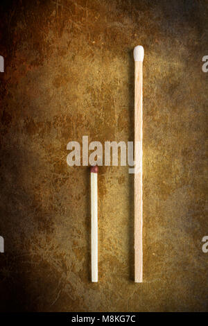 Two matchsticks - Stock Photo