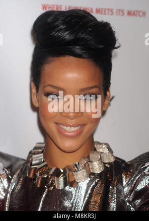 Rihanna at the 3rd annual DKMS Gala at Cipriani 42nd Street in New York City. May 7, 2009. Credit: Dennis Van Tine/MediaPunch - Stock Photo