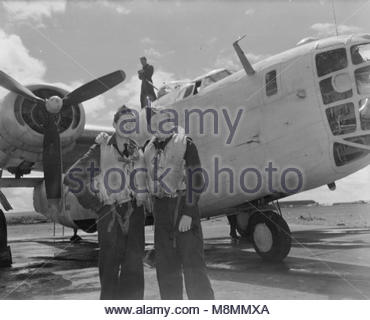 Royal Air Force 1939-1945- Coastal Command The only crew in Coastal Command to sink two U-boats in one sortie was - Stock Photo