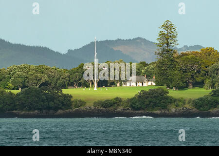 Treaty Ground, Waitangi, North Island, New Zealand - Stock Photo