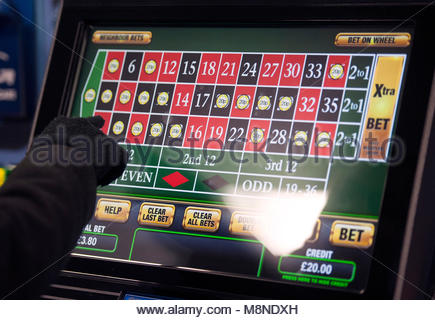 File photo dated 12/01/13 of a someone using a gambling