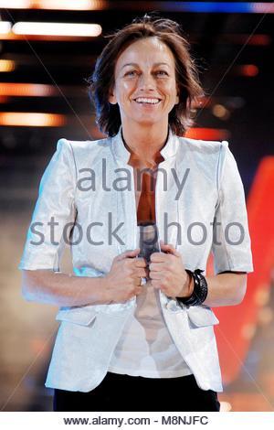 gianna nannini, wind music awards, verona 06-06-2009 - Stock Photo
