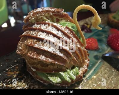Beijing, Beijing, China. 20th Mar, 2018. Beijing, CHINA-20th March 2018: Dessert of mocha flavor. Credit: SIPA Asia/ZUMA - Stock Photo