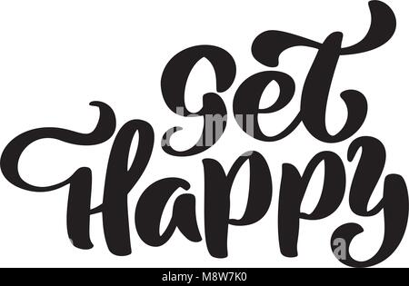 How to write happy birthday greeting old english font mazic
