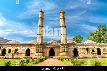 Sahar Ki Masjid at Champaner-Pavagadh Archaeological Park. A UNESCO world heritage site in Gujarat, India - Stock Photo