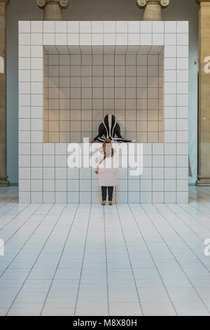 London, UK. 21st march, 2018. Tate Britain Commission: Anthea Hamilton. A large-scale; immersive installation combining - Stock Photo