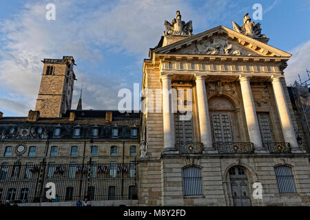 The Palais des Ducs in Dijon, Burgundy, a world heritage city and cutlural sentre - Stock Photo