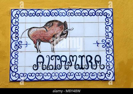 Azulejos in Seville - Stock Photo
