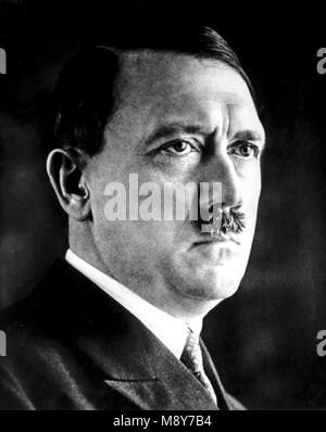 adolf hitler, 1933 - Stock Photo