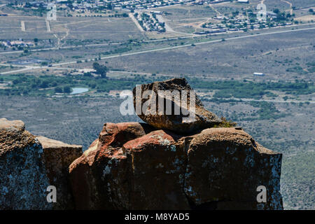 Views from the Valley of Desolation, South Africa - Stock Photo
