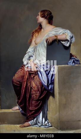 La Renaissance XIXe siècle - The nineteenth century Renaissance Hippolyte de LA ROCHE ( Paul DELAROCHE ) 1797 - - Stock Photo